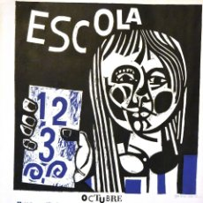 Arte: LINÓLEO 1966 . JOSEP MARIA GARCÍA LLORT. Lote 111169207