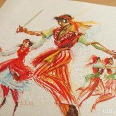 Arte: PERE CLAPERA - GRABADO - BAILES - DANZA. Lote 118231935