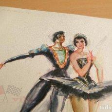 Arte: PERE CLAPERA - GRABADO - BAILES - DANZA. Lote 118231967