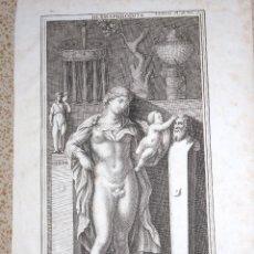 Arte: HERMAFRODITA. B.DE MONTFAUCON. 1719. Lote 118925663