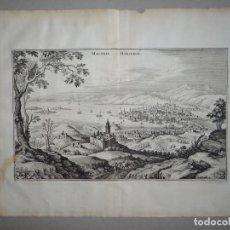 Arte: ANTIGUA VISTA DEL PUERTO DE MARSELLA (FRANCIA),1641. MERIAN. Lote 125348924