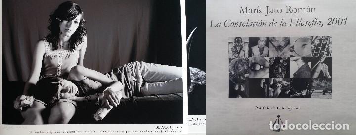 MARÍA JATO: LA CONSOLACIÓN DE LA FILOSOFÍA / PORTFOLIO 15 FOTOGRAFÍAS / 2001 (Arte - Grabados - Contemporáneos siglo XX)