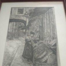 Art - Bonito grabado firmado por enrique ferre - 119347163