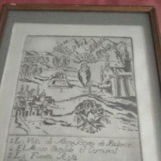Art - Bonito grabado firmado por enrique ferre - 119347323