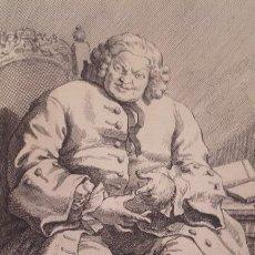 Arte: SIMON LORD LOVAT / GRABADO / WILLIAM HOGARTH. Lote 119359703