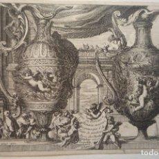 Arte: GRABADO AL COBRE. PIEZA DE MUSEO. DIBUJADO Y GRABADO POR JEAN LE PAUTRE EN 1661. ORIGINAL DE ÉPOCA.. Lote 119477051