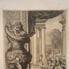 Arte: GRABADO AL COBRE. PIEZA DE MUSEO. DIBUJADO Y GRABADO POR JEAN LE PAUTRE. ORIGINAL DE ÉPOCA.. Lote 119480187