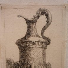 Arte: PAREJA DE GRABADOS AL COBRE. DIBUJADOS Y GRABADOS POR JEAN LE PAUTRE HACIA 1640. ORIGINAL DE ÉPOCA.. Lote 119480547