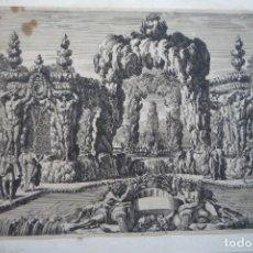 Arte: GRABADOS AL COBRE. PIEZA DE MUSEO. DIBUJADO Y GRABADO POR JEAN LE PAUTRE. ORIGINAL DE ÉPOCA.. Lote 119481087