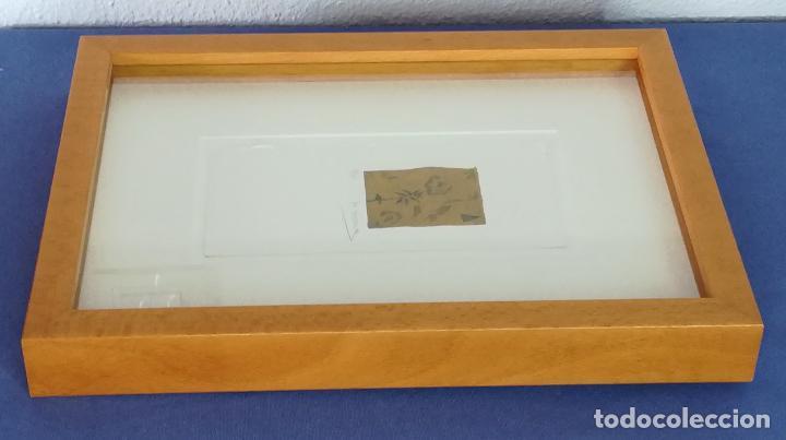 Arte: Miguel Zaragoza, grabado, enmarcado, 50 x 65 mm (1/25), firmado - Foto 3 - 119564135
