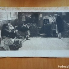 Arte: AGUAFUERTE BEETHOVEN L. BALESTRIERI PINX. W. LEO ARNDT SCULPS. L. ANGERER BERLIN IMPR. 1901. Lote 119657983