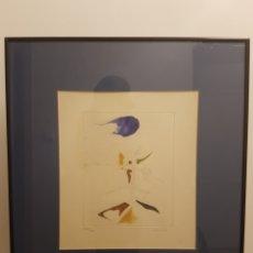 Arte: GRABADO JORGE CASTILLO - 1993 - NÚMERO 278/300 - AGUAFUERTE - AGUATINTA - CON IMPORTANTE MARCO. Lote 119705214