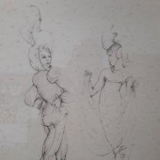 Arte: LEONOR FINI ( BUENOS AIRES 1907- PARÍS 1996). GRABADO. Lote 120056828