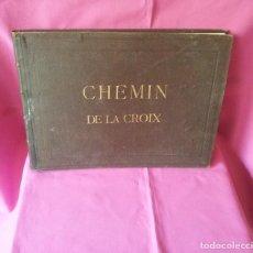 Arte: CHEMIN DE LA CROIX - SALON DES BEAUX-ARTS 1864-1865 - EXPOSITION UNIVERSELLE CLASSE 14 ET 15. Lote 120523511