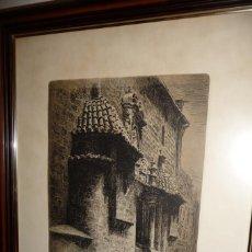 Arte: VALENCIA.CUATRO GRABADOS ERNESTO FURIO. ENMARCADOS. TOTAL.61X51.ARTES GRAFICAS VICENT. Lote 120526319