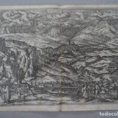 Arte: VISTA DE ALHAMA DE GRANADA (ANDALUCÍA, ESPAÑA), 1575. HOEFNAGEL/BRAUN/HOGENBER. Lote 120619643