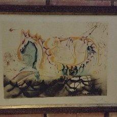 Arte: GRABADO ORIGINAL DALI FIRMADO. Lote 121144459