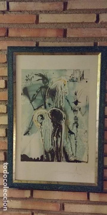 GRABADO ORIGINAL DALI FIRMADO (Arte - Grabados - Contemporáneos siglo XX)