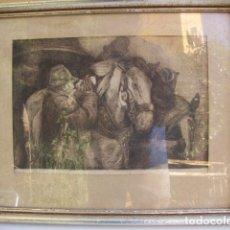 Arte: GRABADO ORIGINAL. FIRMADO. Lote 121178291