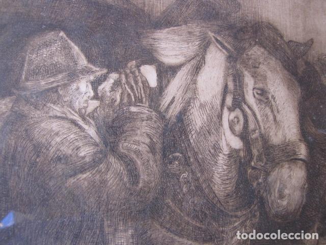 Arte: Grabado Original. Firmado - Foto 2 - 121178291