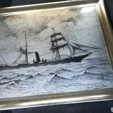Arte: GRABADO ORIGINAL DE JOSÉ M GONZÁLEZ COLLADO DE 1981. Lote 121226823