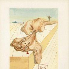Arte: SALVADOR DALÍ- XILOGRAFÍA DE LA DIVINA COMEDIA. 1965. Lote 121429787