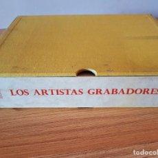 Arte: LOS ARTISTAS GRABADORES ROSA VERA 1957-1958. Lote 121726907