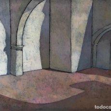 Arte: LINÓLEO - ISABEL MAS - FIRMADO. Lote 121741971