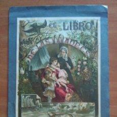 Arte: EXCELENTE CROMO LITOGRAFÍA - EL LIBRO DE LAS MADRES. Lote 122035039