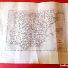 Arte: MAPA DE ESPAÑA - 1850'S . Lote 122098231