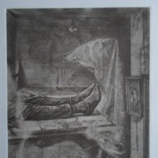 Arte: JULIO LÓPEZ HERNÁNDEZ (MADRID 1930-2018) GRABADO 1972 DE 26X36 PAPEL 41X55CMS FIRMADO LÁPIZ Y 77/100. Lote 122290851