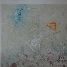 Arte: OLGA BILLOIR GRABADO (COLLAGRAF) DE 52X37 PAPEL 75X57. 5/25. TEORÍA DE LOS SUEÑOS.PERFECTO-. Lote 122902967