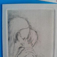 Arte: MONSERRAT GUDIOL 1968 GRABADO. Lote 123316983