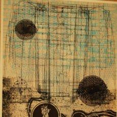 Arte: GRABADO JOAN JOSEP THARRATS. Lote 123365091