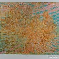 Arte: ISABEL SERRAHIMA (1934-1999) GRABADO 7/15 TITULADO CONTRALLUM FIRMADO A LÁPIZ. Lote 123538179