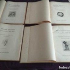 Arte: LOTE DE 4 LIBROS CON LITOGRAFÍAS DE HONORÉ CON 768 ILUSTRACIONES. Lote 124202987