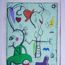 Arte: JES NORDBY (DINAMARCA 1955), PRECIOSA OBRA GRAFICA, FIRMADA.. Lote 124219074