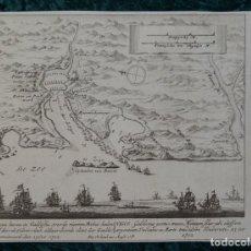 Arte: BATALLA DE RANDE EN VIGO I (GALICIA, ESPAÑA), 1730. PETER SCHENK. Lote 124276507