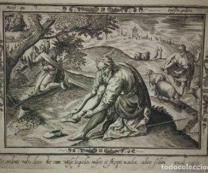 8 Grabados EXODUS Jean Le Clerc 1611 Pasajes bíblicos. Judaica