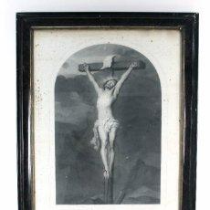 Arte: *B-168 . LAMINA MON PERE PARDONNEZ LEUR. VAN DYCK. BRUSELAS 1840.. Lote 124506323