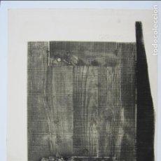 Arte: ANTONI CLAVÉ (1913-2005), GRABADO, 1980. 90X63,5CM.. Lote 124507283