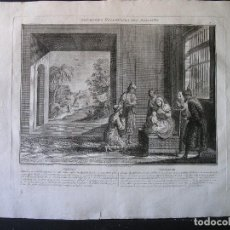 Arte: ANTIGUO GRABADO AGUAFUERTE - FINALES SIGLO XVIII - (VER DESCRIPCIÓN). Lote 124550363