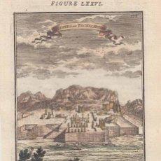 Arte: VISTA DE LAS RUINAS DE PERSÉPOLIS (IRÁN, ASIA), 1683. MALLET. Lote 125312503