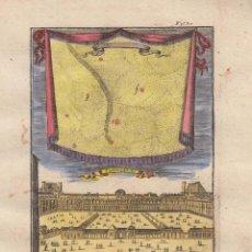 Arte: VISTA DEL PALACIO REAL DE LAS TULLERIAS DE PARIS (FRANCIA) Y COMETA, 1685. MALLET. Lote 125321415