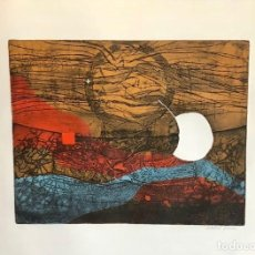 Arte: ISABEL PONS - GRABADO SOBRE PAPEL - FIRMADO. Lote 125827167