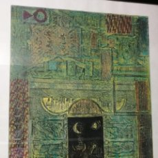 Arte: GRABADO FIRMADO ALCACER..? TORO LUNA GITANA--TITULO COPTE D´EUROPA---PA+. Lote 125877035