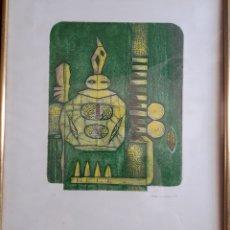 Arte: GENE CARLSON. GRABADO NUMERADO FIRMADO Y FECHADO.. Lote 125902448