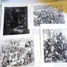 Arte: GRABADOS DE GUSTAVO DORÉ Y H. PISAN EXTRAÍDOS DE DON QUIJOTE DE LA MANCHA 1967. Lote 125953763