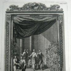 Arte: 1731 GRABADO AL COBRE BALSAMO NATAPH BALSAMUN - JOHANN JAKOB SCHEUCHZER - SPERLING SCULPS S.XVIII. Lote 125960271