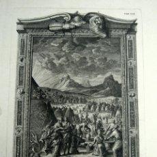 Arte: S.XVIII GRABADO AL COBRE MANNA AFSERUATA - JOHANN JAKOB SCHEUCHZER 1731 - FRIDRICH SCULPS. Lote 125961903